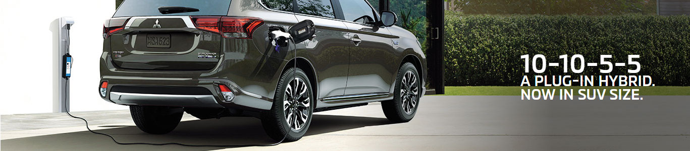 10-10-5-5 A PLUG-IN HYBRID. NOW IN SUV SIZE., Rouge Valley Mitsubishi, Scarborough, Ontario
